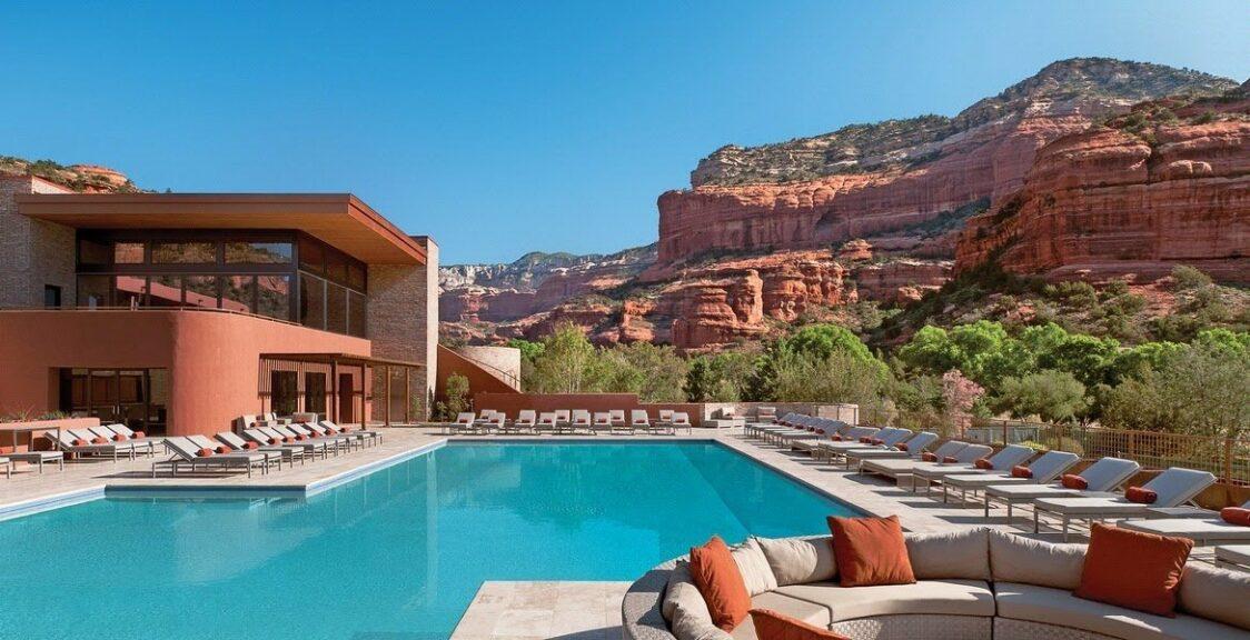 Enchantment Resort Review | Pool view