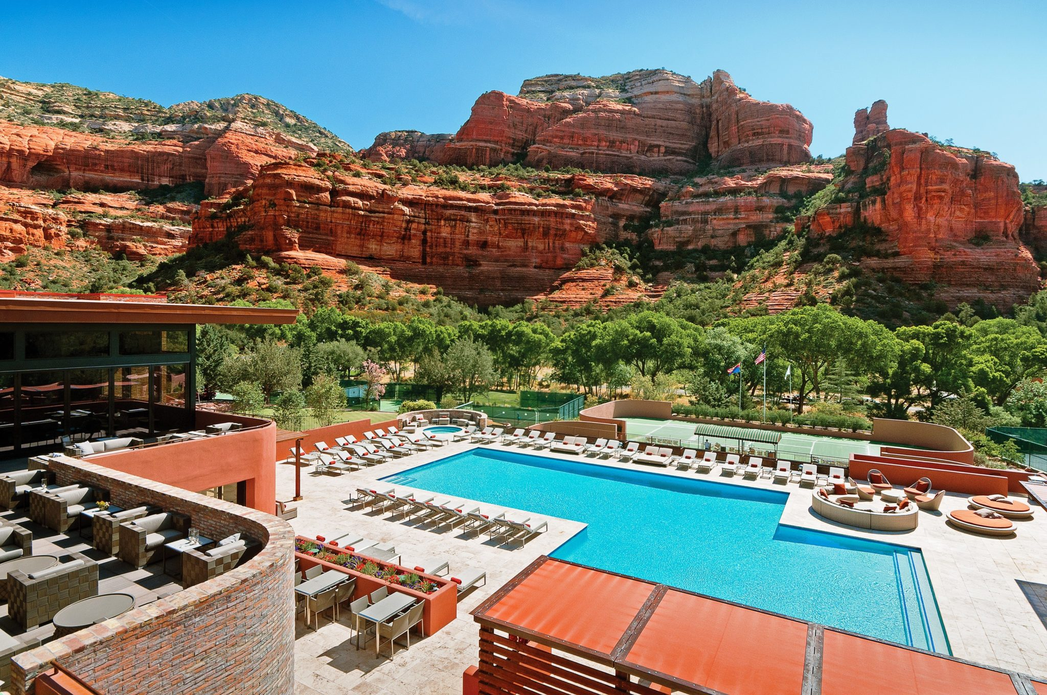 Enchantment Resort | Pool view