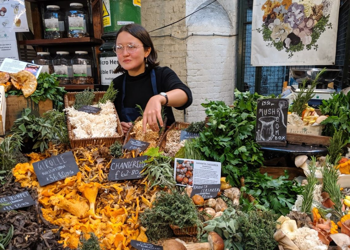 Playground Earth | Borough Market | London | Mushrooms