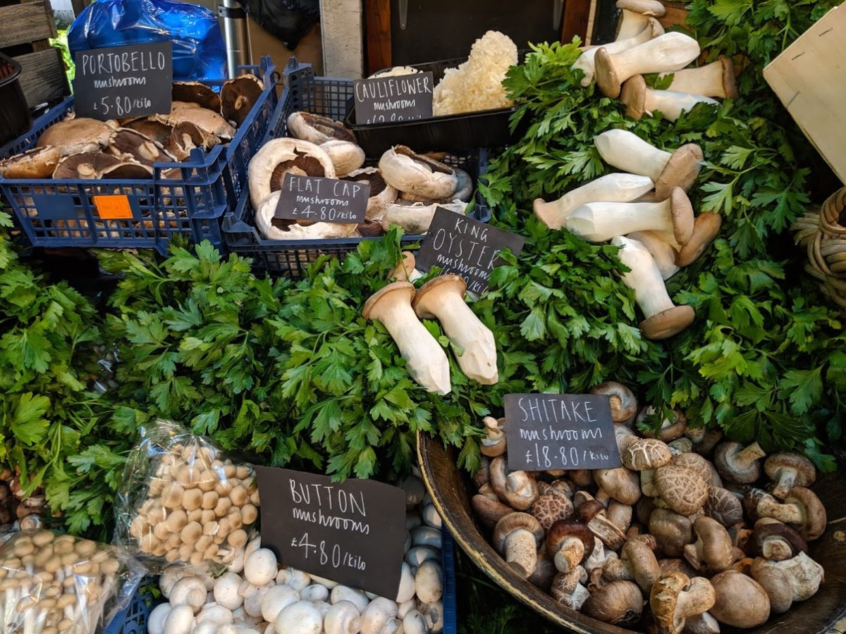 Playground Earth l Borough Market l Mushrooms