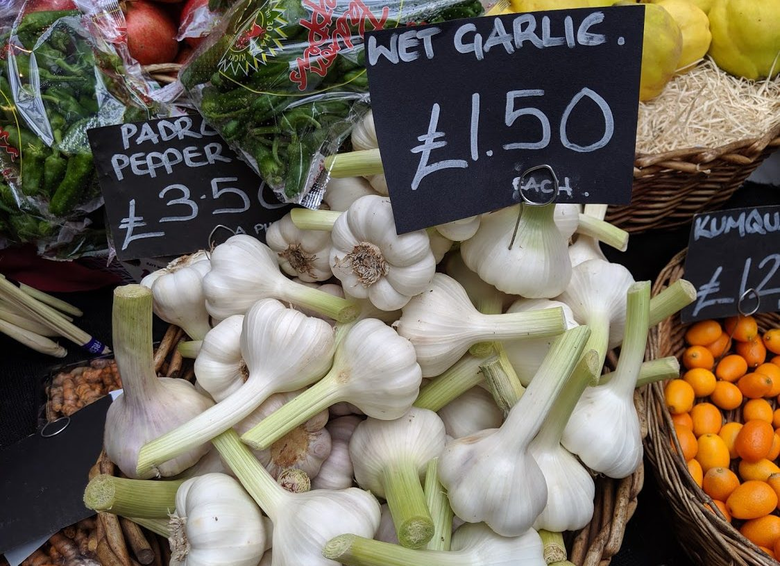 Playground Earth l Borough Market l Garlic