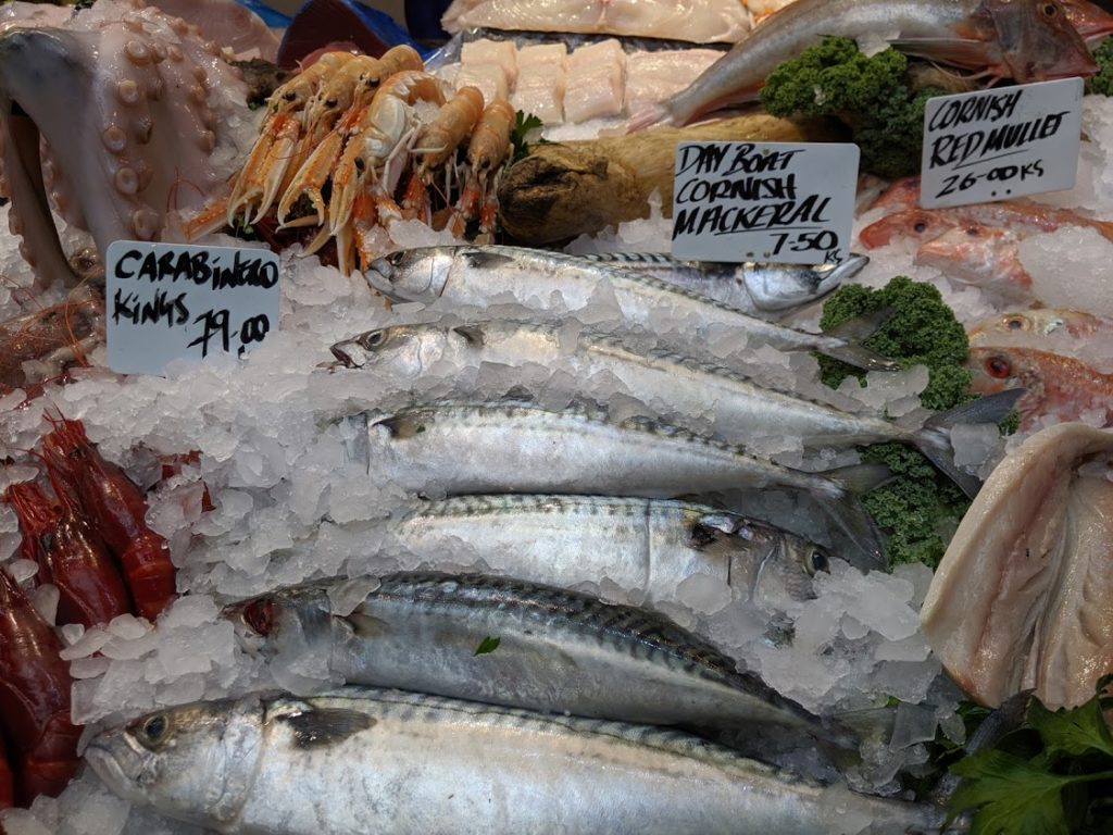 Playground Earth | Borough Market | London | Mackerels