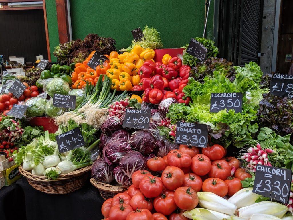 Playground Earth | Borough Market l London | Veggies