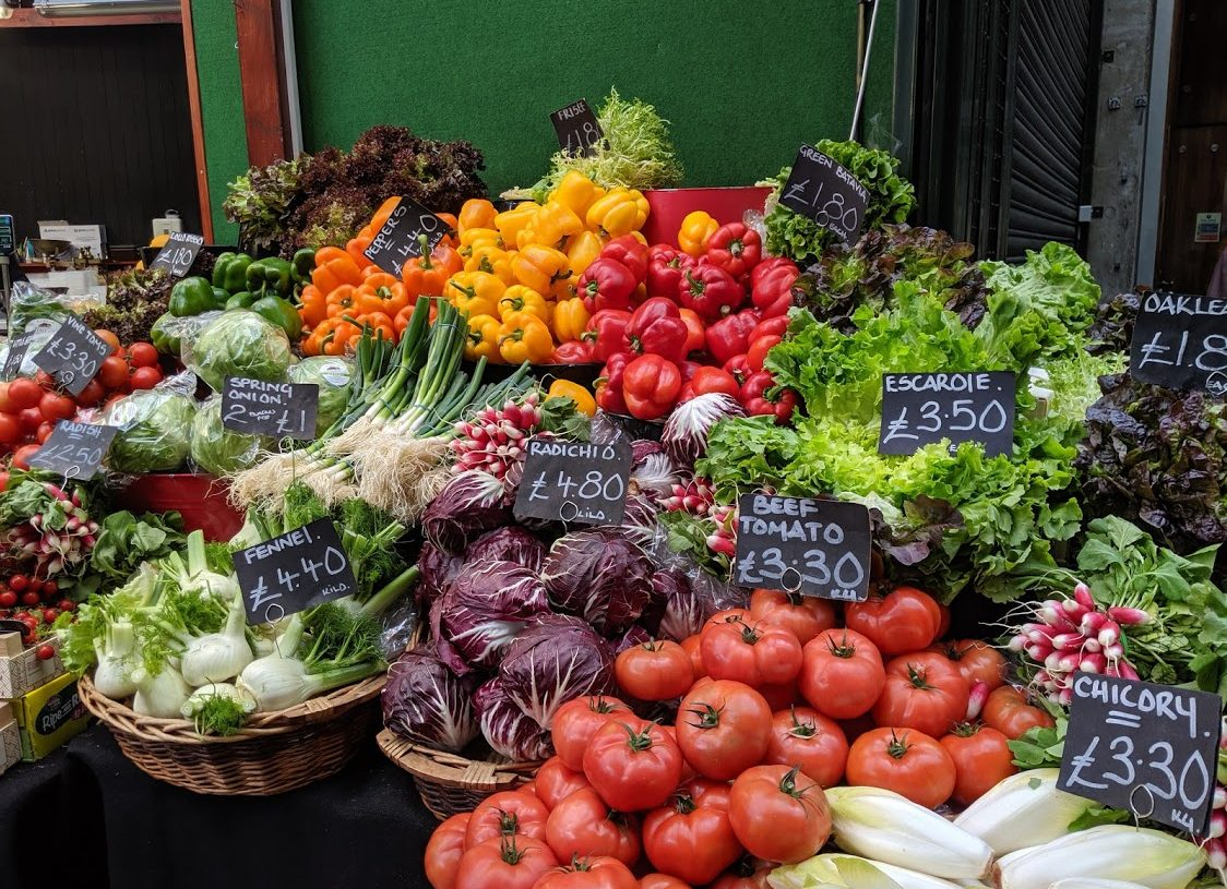 Playground Earth | Borough Market l London | Veggies