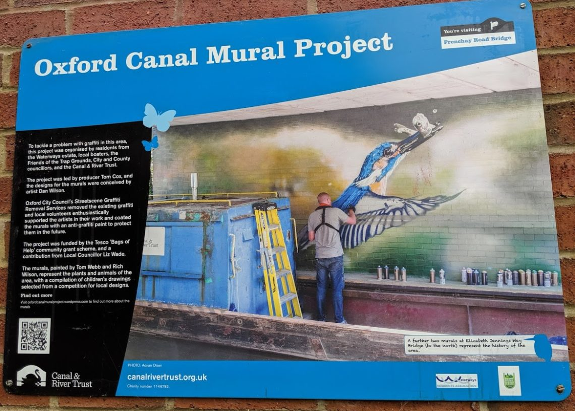 Playground Earth | Oxford Canals | Mural Project
