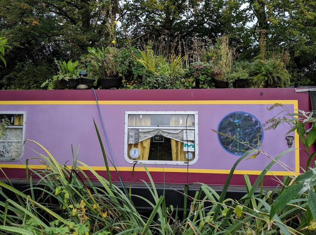 Playground Earth | Oxford Canals | Long Boat Garden