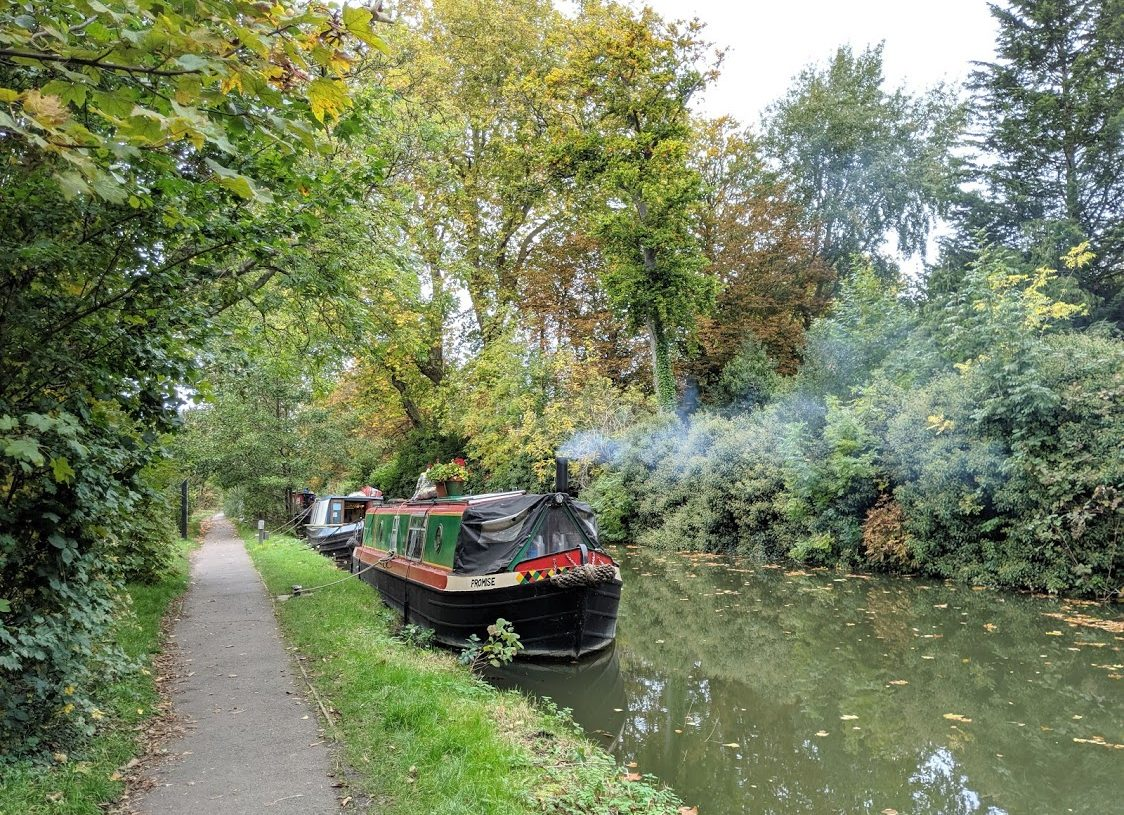 Playground Earth | Oxford Canals l Morning coffee