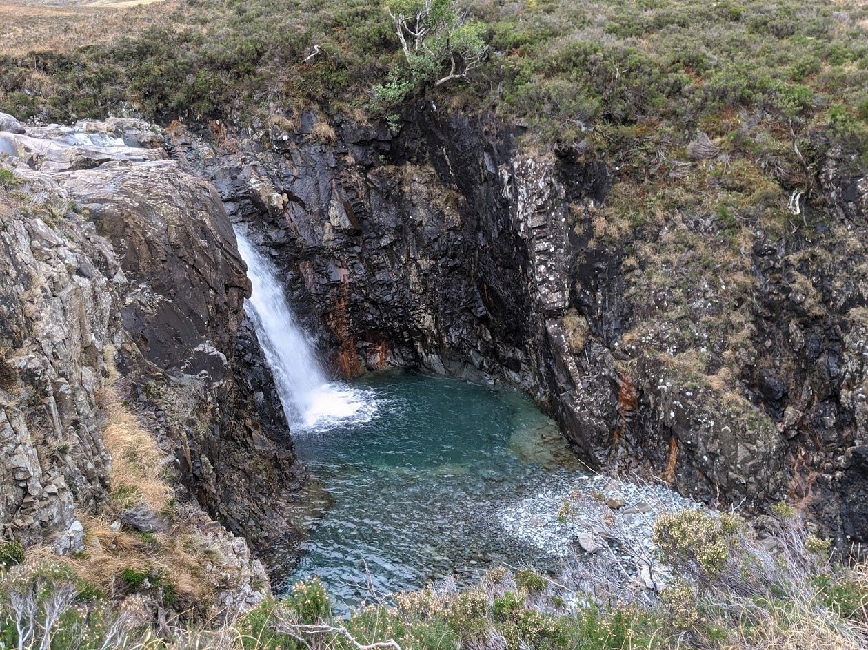 Playground Earth   Fairy Pool l 35 foot drop